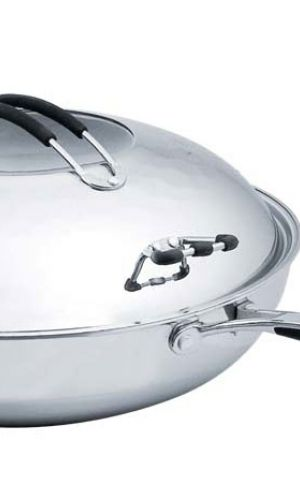 2pcs Stainless Steel Cookware Set